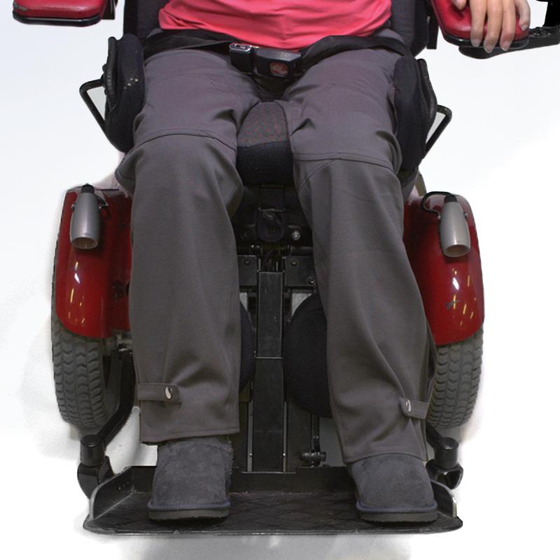 Pantalon raphae%cc%88l taupe vetement pratique handicap
