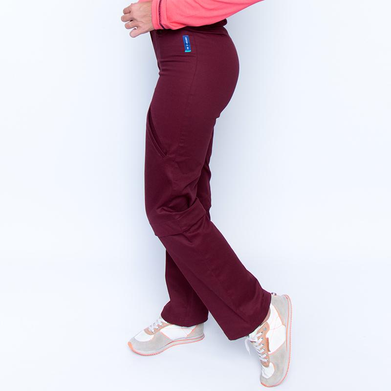 Bermulon alex bordeaux pantalon pratique handicap