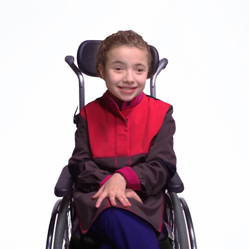 Marina manteau alix marron corail vetement pratique fauteuil roulant handicap web