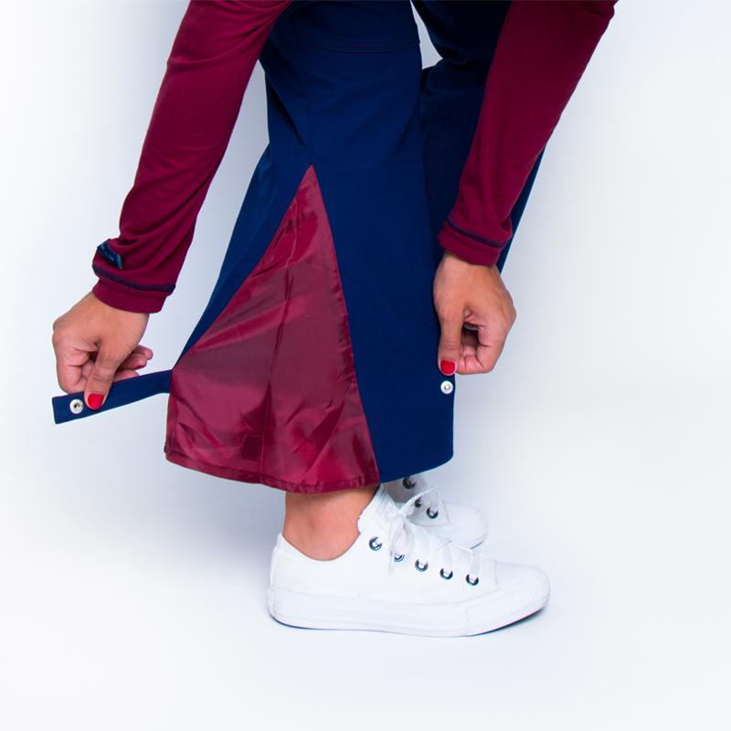 Pantalon rapahel bleu chaussures orthope%cc%81dique pratique handicap