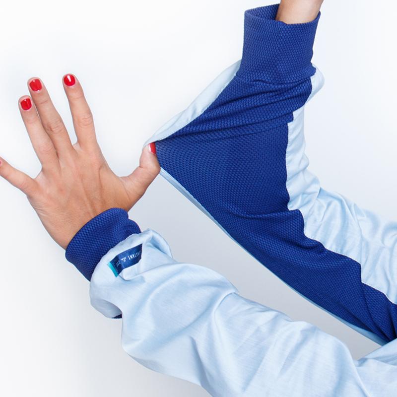 Astuces chemise mahe%cc%81 ciel bleu
