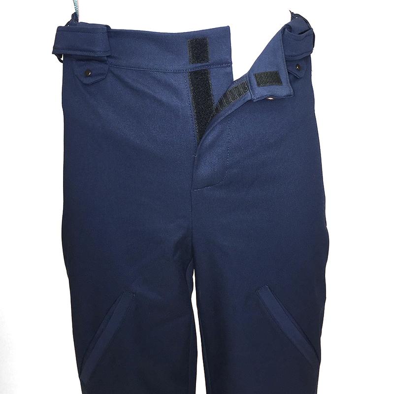Pantalon lou pratique personne handicap fauteuil roulant bleu brut 1
