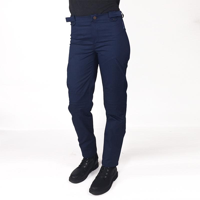 Pantalon lou adapte%cc%81 pratique mode handicap fauteuil roulant bleu brut