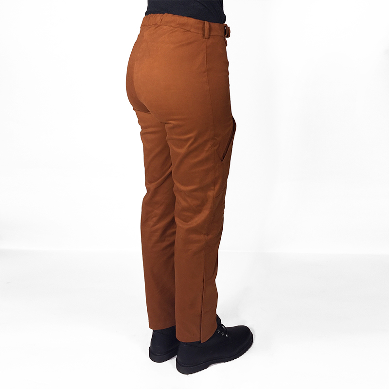 Pantalon lou adapte%cc%81 pratique mode handicap caramel