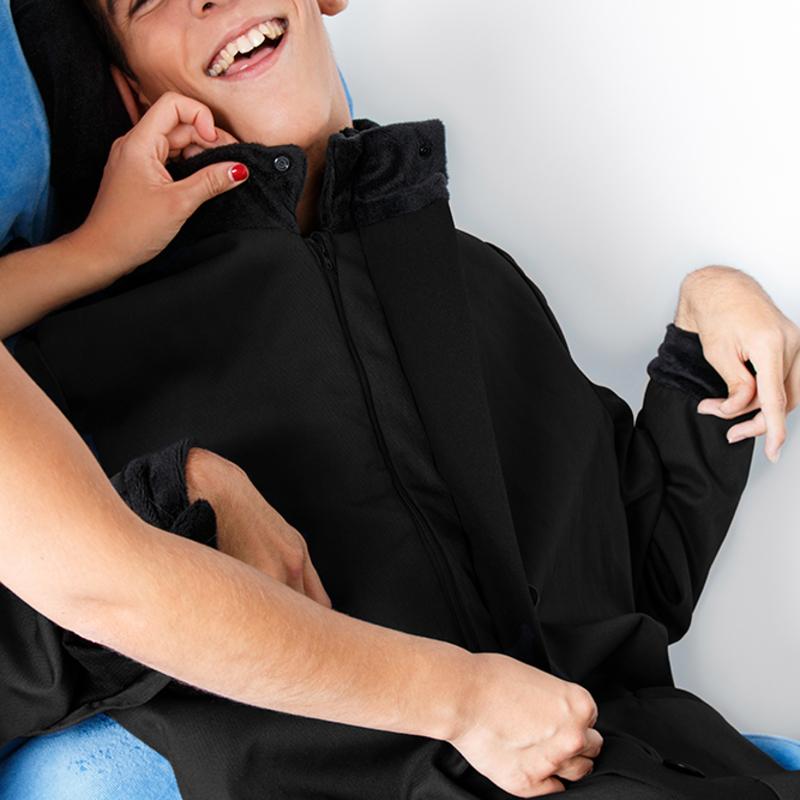 Constant manteau alba noir fauteuil albatros