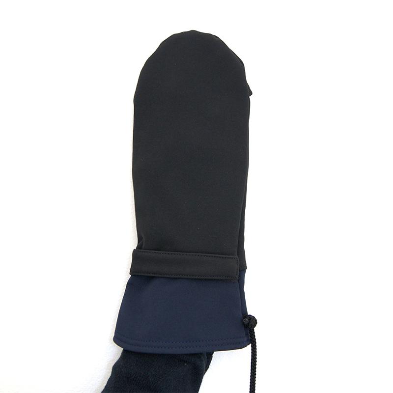 Moufles gael noir marine vetement gants adapte%cc%81s handicap