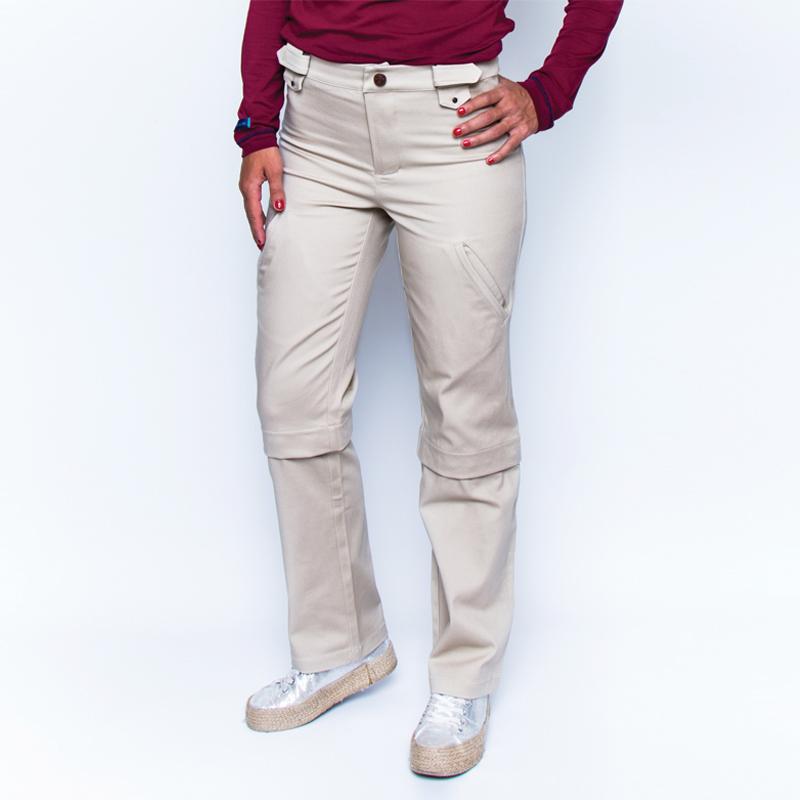Bermulon alex beige zoom pantalon pratique handicap