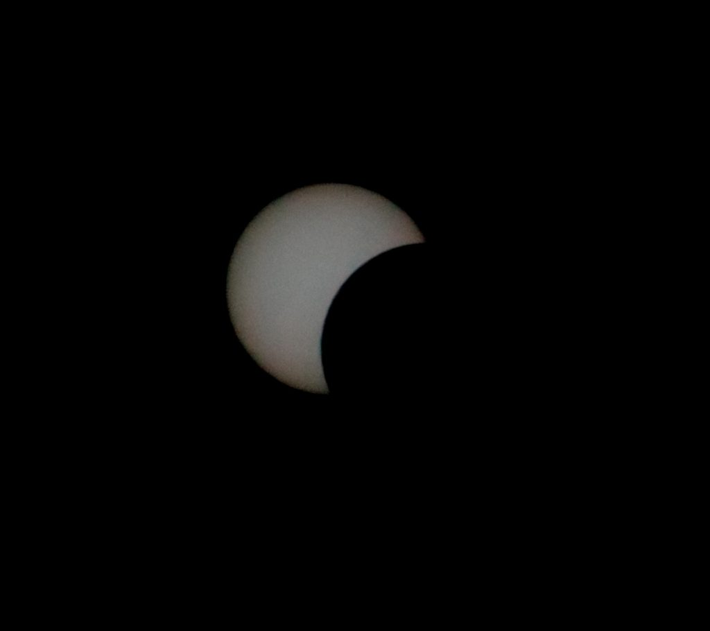 Great African Eclipse os 1 September 2016. Credit: Allen Versfeld