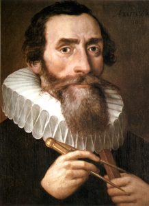 A 1610 portrait of Johannes Kepler by an unknown artist