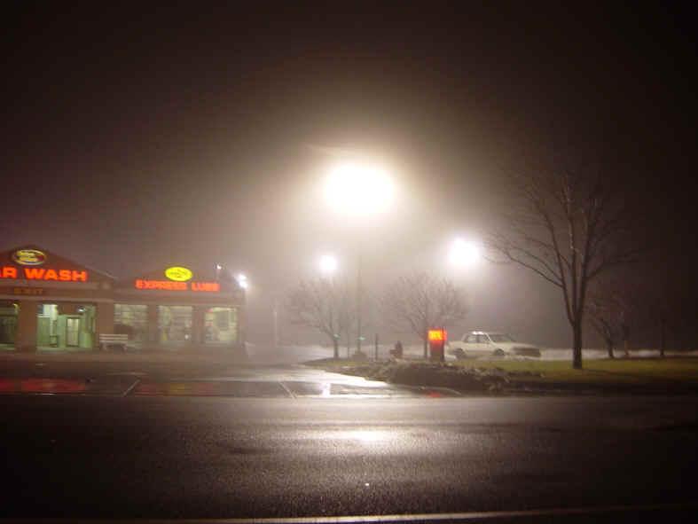 Light pollution: Glare