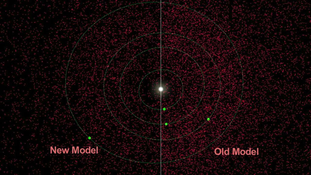 NEOWISE observations indicate that there are at least 40 percent fewer near-Earth asteroids in total that are larger than 330 feet, or 100 meters. Image credit: NASA/JPL-Caltech