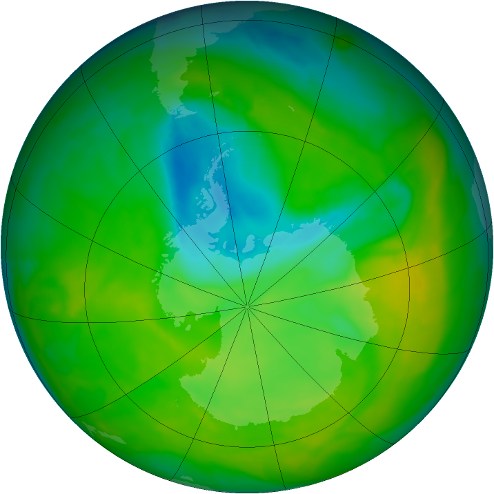 Ozone Hole - 23 November 2012
