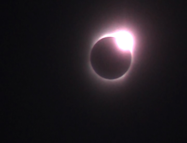 Solar eclipse in Nankai