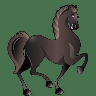 Horse (Black)