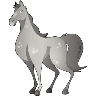 Horse (Grey)