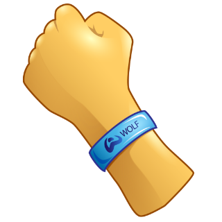 WOLF Wristband