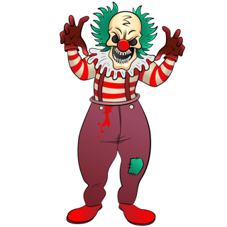 Scary Clown +50% EXTRA REP NOW