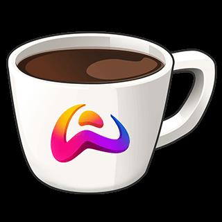 قهوة ولف