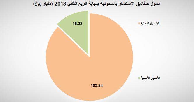 أصول صناديق الاستثمار في السعودية تتراجع إلى 119 1 مليار ريال 1