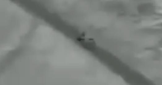 لحظة استهداف قاسم سليماني بالقرب من مطار بغداد