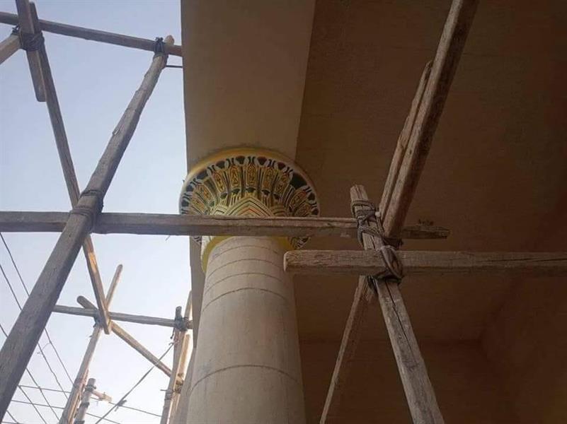 005873ea c54f 4083 b132 4092097b9195 - مسجد بزخارف فرعونية يثير الجدل في مصر.. ما القصة؟