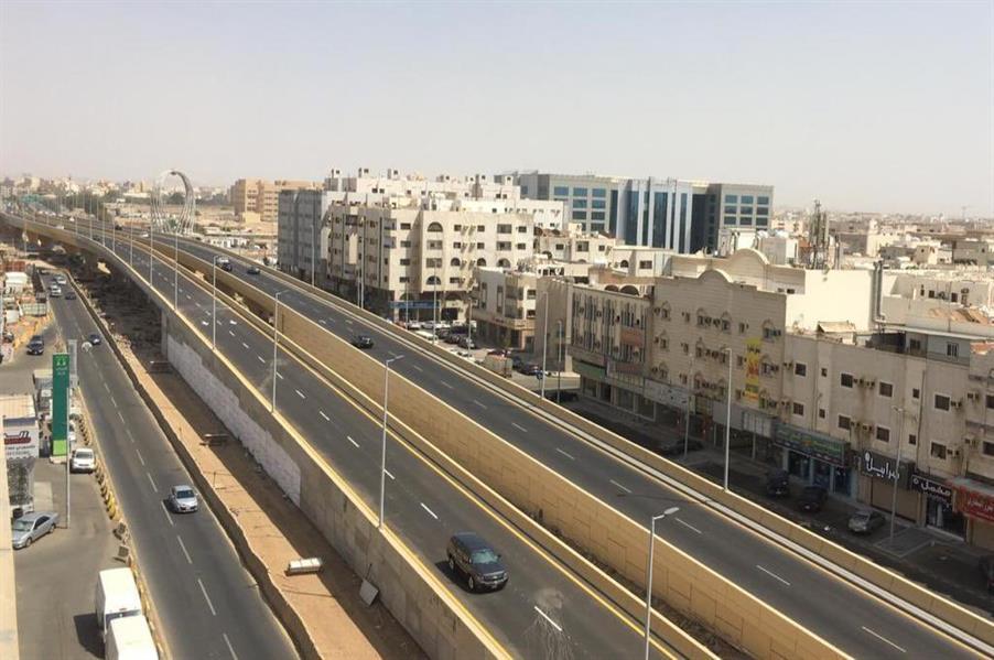 افتتاح جسر صاري مع طريق الملك فهد في الاتجاهين