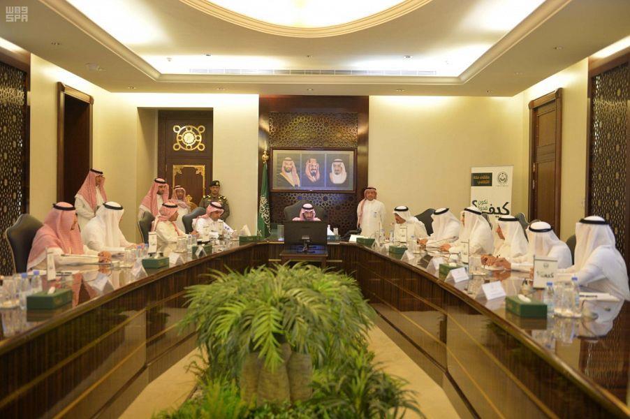 الأمير عبدالله بن بندر يوجه بتشكيل لجنة للتأكد من سلامة المباني المخصصة لتسكين الحجاج قبل وصولهم
