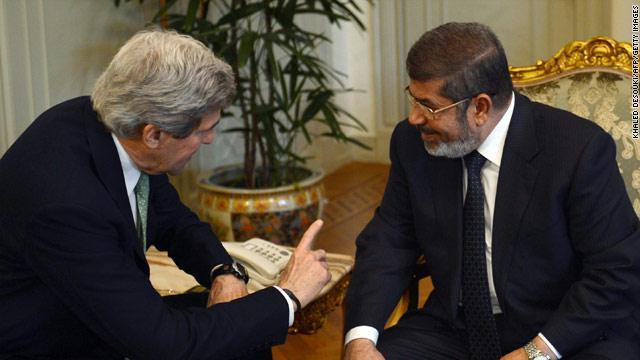 مرسي وكيري