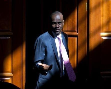 رئيس هايتي جوفينيل مويس