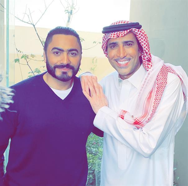 تامر حسني وفايز المالكي