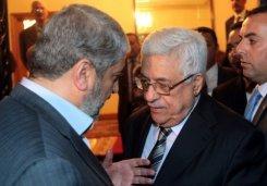 محمود عباس و خالد مشعل