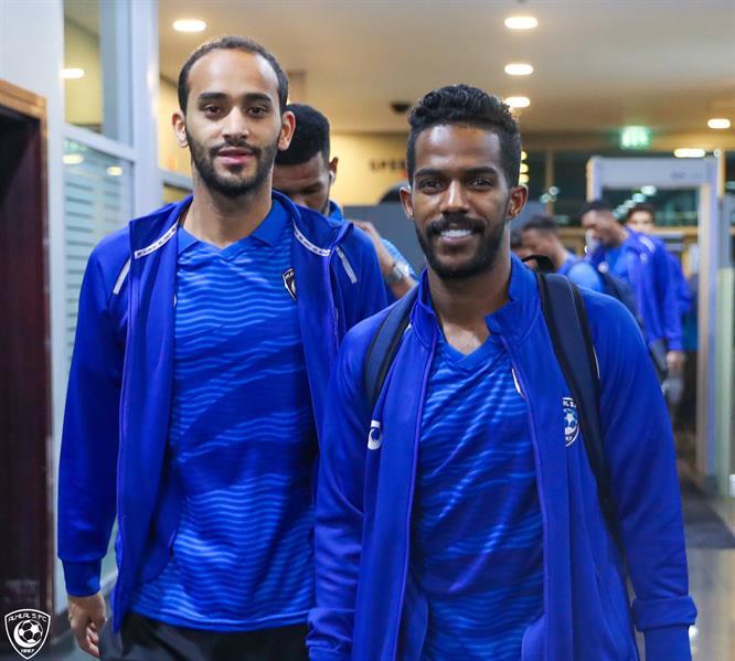 وصول بعثة الهلال إلى دبي