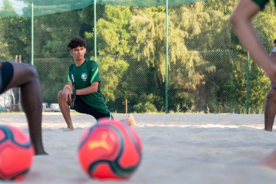 منتخب الشاطئية يختتم معسكره التدريبي في مدينة الجبيل الصناعية