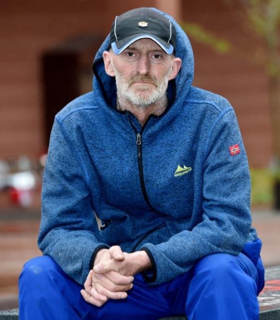 الرجل العجوز ديفيد كريغ