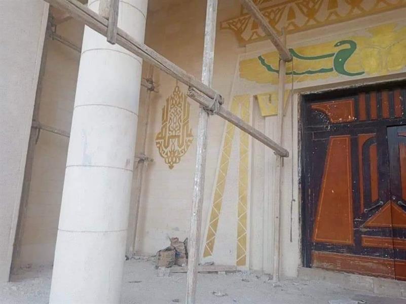04b76de5 b70a 4914 94be dc52cd1e8ee2 - مسجد بزخارف فرعونية يثير الجدل في مصر.. ما القصة؟