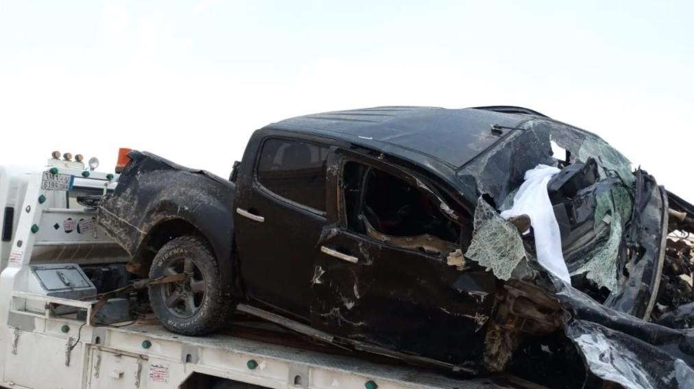 حـادث مروري يودي بحياة 8 أشخاص من عائلة واحدة بحوطة بني تميم