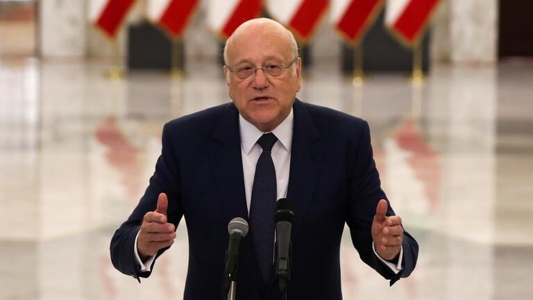 رئيس الوزراء اللبناني المكلف نجيب ميقاتي