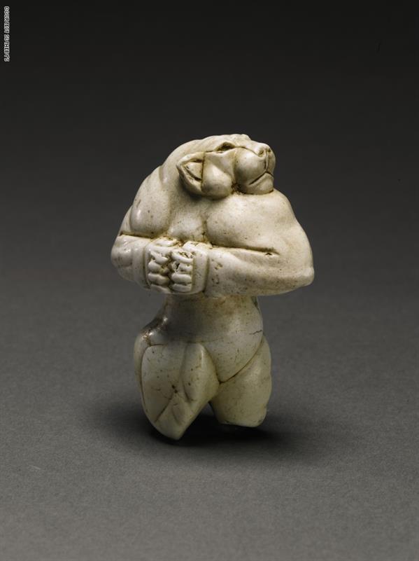 منحوتة لبؤة جينول، حوالي 3000-2800 عام قبل الميلاد