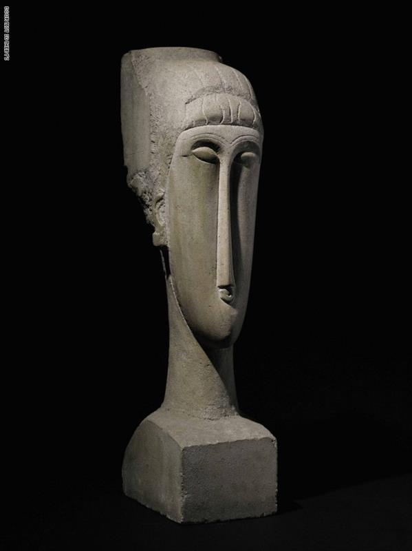 Grande tête mince'، ألبرتو جياكوميتي عام 1955