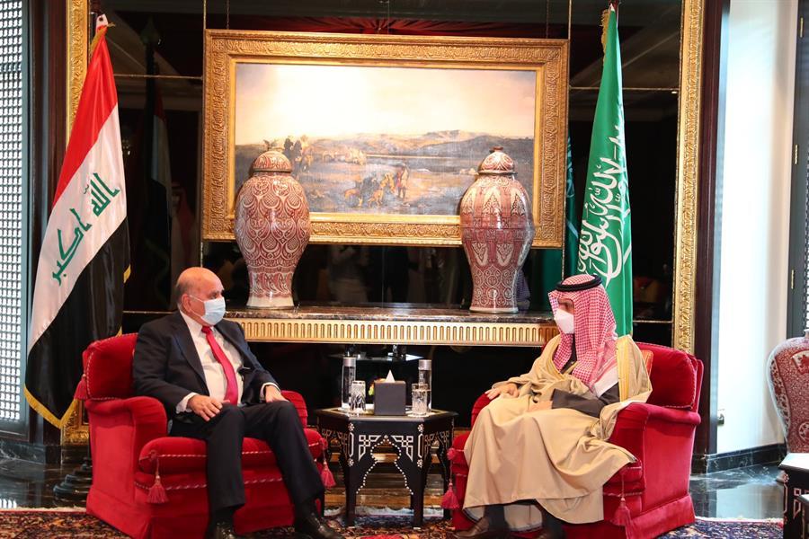 الأمير فيصل بن فرحان يلتقي عدداً من وزراء خارجية الدول الشقيقة والصديقة