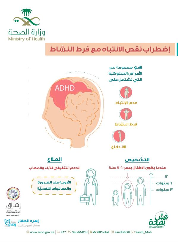 """""""الصحة"""" توضح أعراض فرط الحركة لدى الأطفال وطريقة العلاج"""