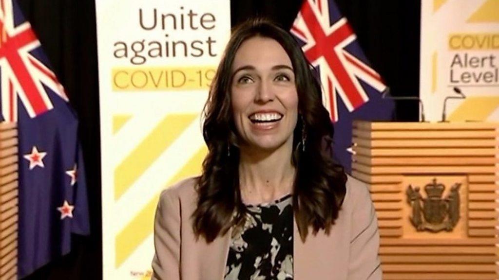 رئيسة وزراء نيوزيلندا جاسيندا أردرين