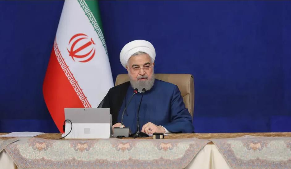 """روحاني يعتبر البيت الأبيض منطلق """"الجرائم"""" بحق إيران"""