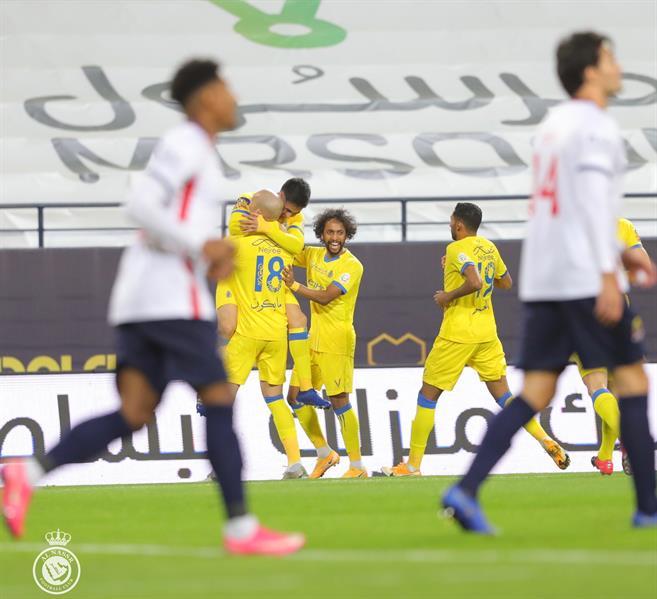 مباراة النصر والوحدة