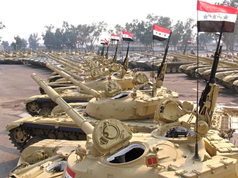 القوات البرية العراقية