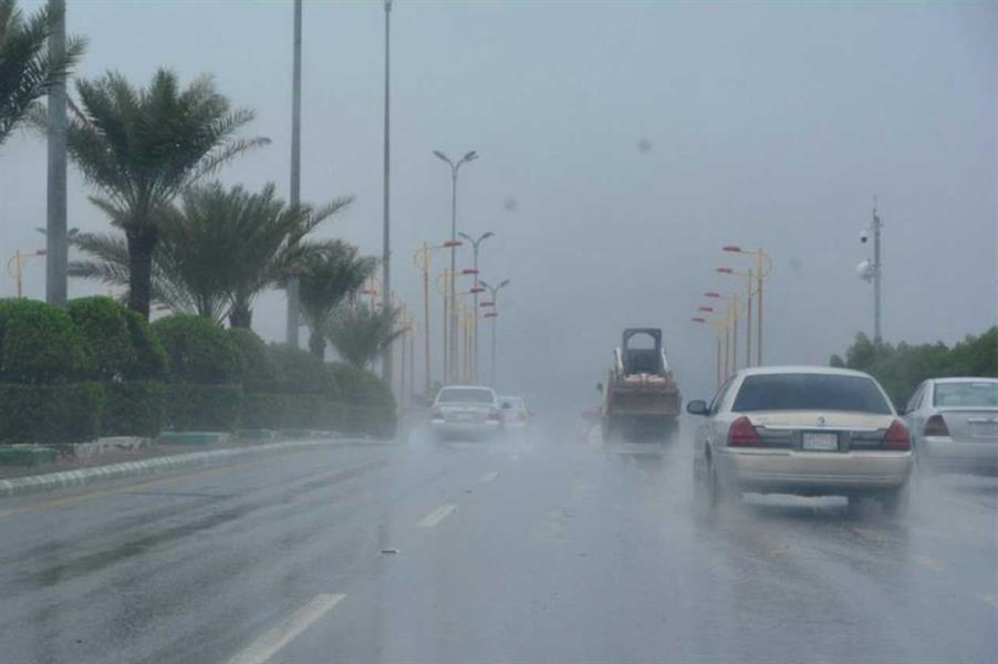 """""""الأرصاد"""" تُصدر تنبيهات بهطول أمطار رعدية ورياح مثيرة للأتربة على 5 مناطق"""