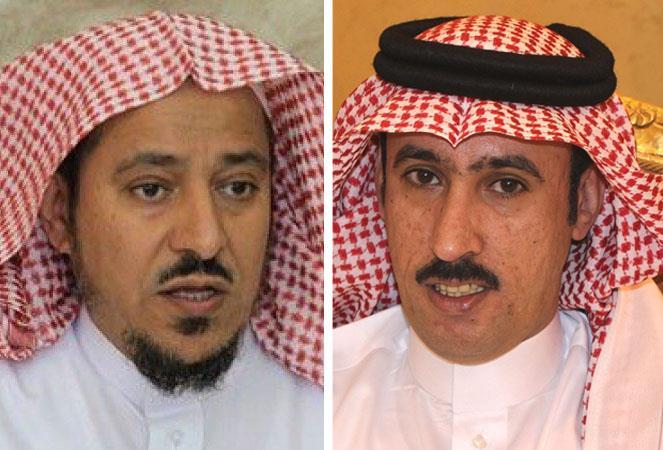 الشيخ سعد البريك والشاعر خلف بن مشعان