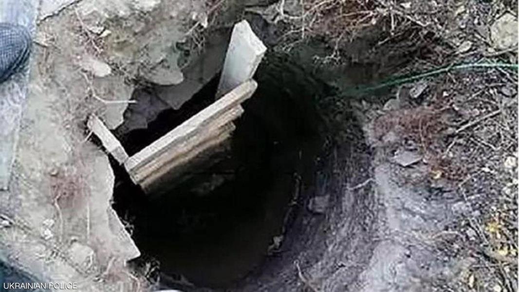 النفق الذي تم حفره في أوكرانيا بواسطة ام السجين