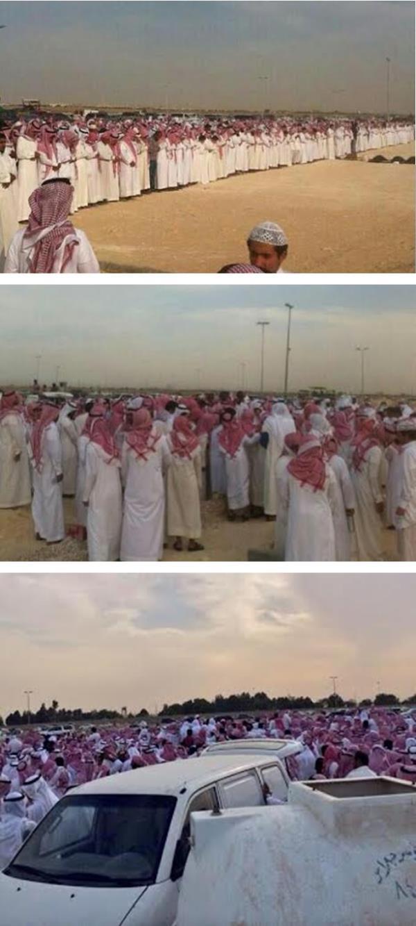 جموع كبيرة في تشييع جثمان الإعلامي خالد العريشي
