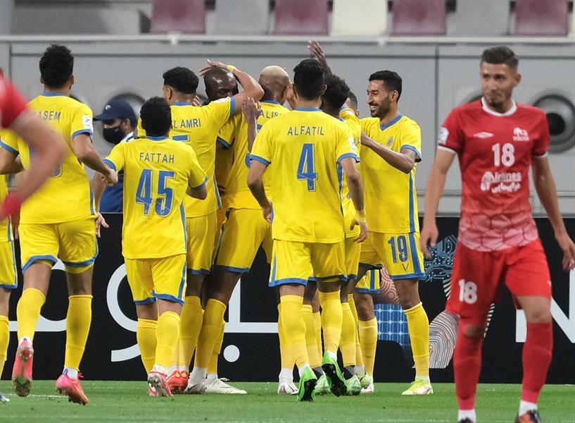 مباراة النصر تراكتور الإيراني